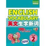 CEFR English Vocabulary 英文生字新词 Year 2