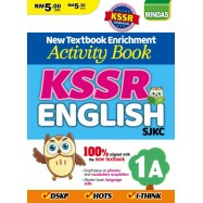 image of Activity Book KSSR English SJKC 英文配版作业 1A