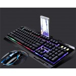 G700 RGB Gaming Keyboard with Mouse Combo Mechanical Feel Rainbow LED