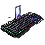 image of G700 RGB Gaming Keyboard Mechanical Feel Rainbow LED