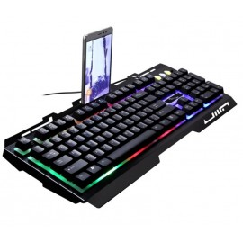 image of G700 RGB Gaming Keyboard Mechanical Feel Rainbow LED
