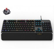 image of JD 610 Mechanical RGB Red Switch Gaming Keyboard Full 104 Key