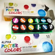 image of Alpha Poster Colour 12 Colour
