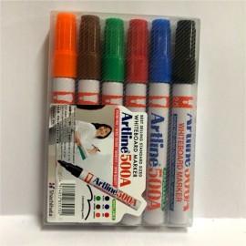 image of Artline 500 6 Colour/Set