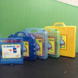 image of Buncho Gabang Series Crayon 24C / 36C / 48C / (55/60C) / (60/70C)
