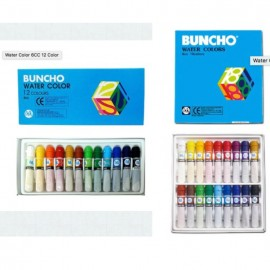 image of Buncho Water Color 12 Colours / 18 Colours