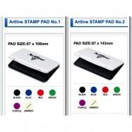 image of Artline Stamp Pad No.1 / No.2