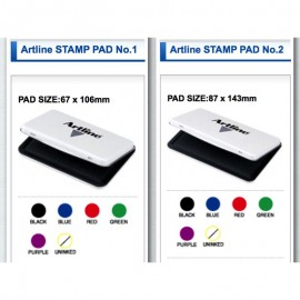 image of Artline Stamp Pad No.1 / No.2