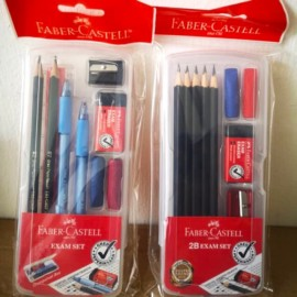 image of Faber Castell Exam Set / Faber Castell 2B Exam Set