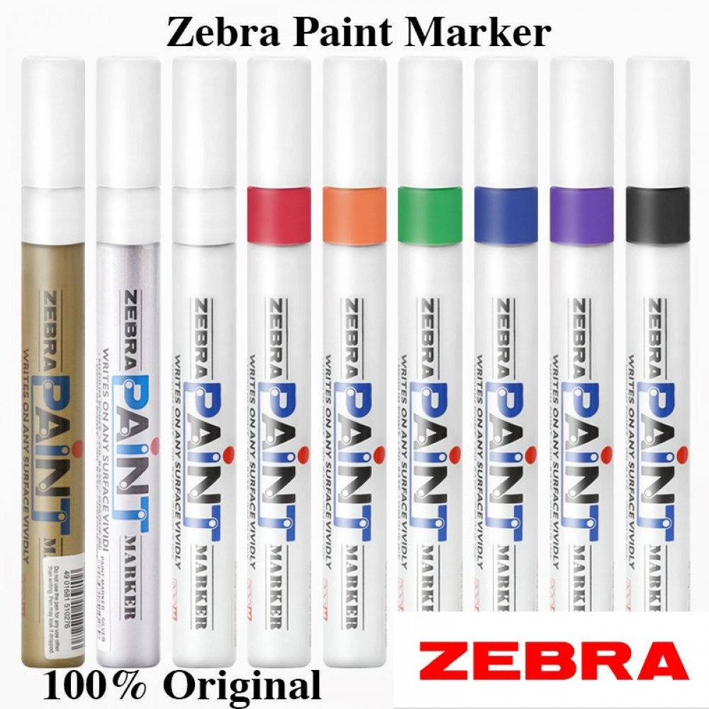 Zebra Paint Marker