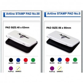 image of Artline Stamp Pad No.00 / No.0