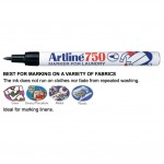 Artline 750 Laundry Permanent Marker