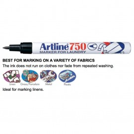 image of Artline 750 Laundry Permanent Marker