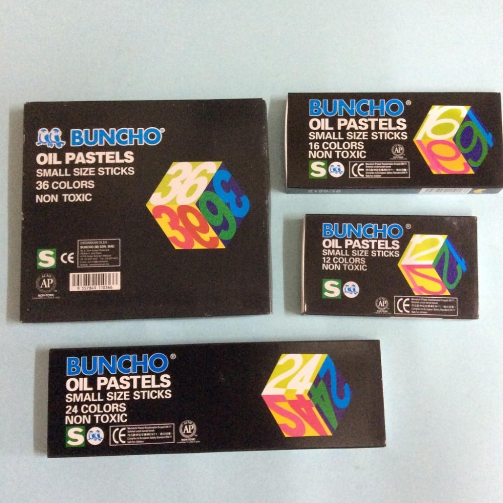 Buncho Oil Pastels 12C  16C  24C  36C  48C