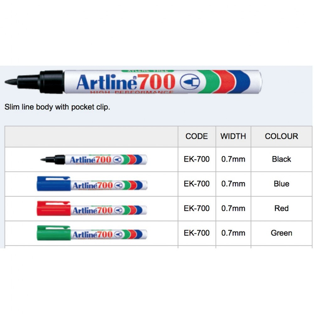 Artline 700 Permanent Marker