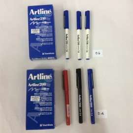 image of Artline Writing Pen / Artline 200 / Artline 210 / Artline 220 / Artline 250