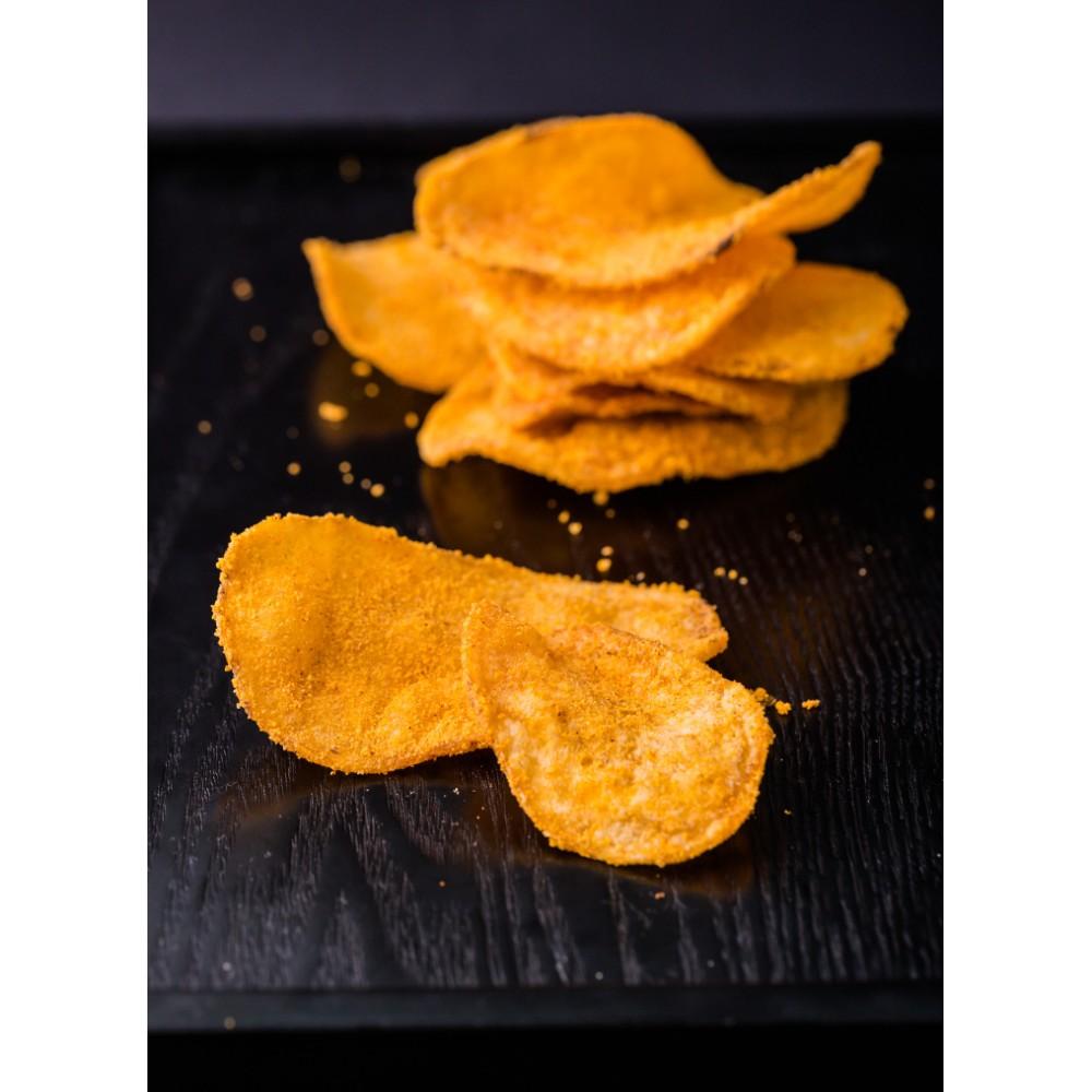 Crazy Cheese Potato Chip (Thick Cut) 香浓芝士薯片(厚切)
