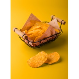 image of 80g Crazy Cheese Potato Crisps (Melt In Your Mouth) 香浓芝士薯片(入口即化)