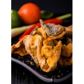 image of Tom Yum Kung Crispy Fish Skin 泰式东炎香脆鱼皮