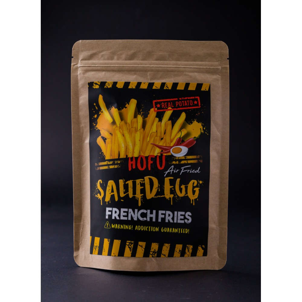 100g Salted Egg French Fries 黄金咸蛋脆薯条
