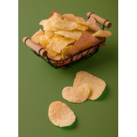 image of Durian Potato Crisps (Melt In Your Mouth) 榴莲薯片(入口即化) 80g