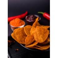 image of Spicy Korean Potato Chip (Thick Cut) 韩式香辣薯片(厚切) 80g