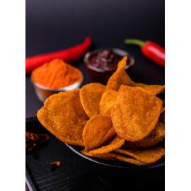 image of Spicy Korean Potato Chip (Thick Cut) 韩式香辣薯片(厚切) 80g