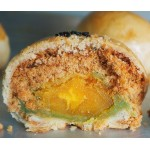 WHOLE SALTED EGG CHICKEN FLOSS WITH LOTUS PASTE BISCUIT 4 PCS