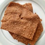 image of Red Bean Curd White Sesame Cracker 南乳芝麻薄脆片