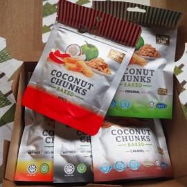image of Coconut Chunks Set (5 flavors)