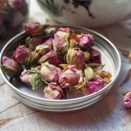 image of DRIED FRENCH ROSE FLOWER 法国玫瑰花