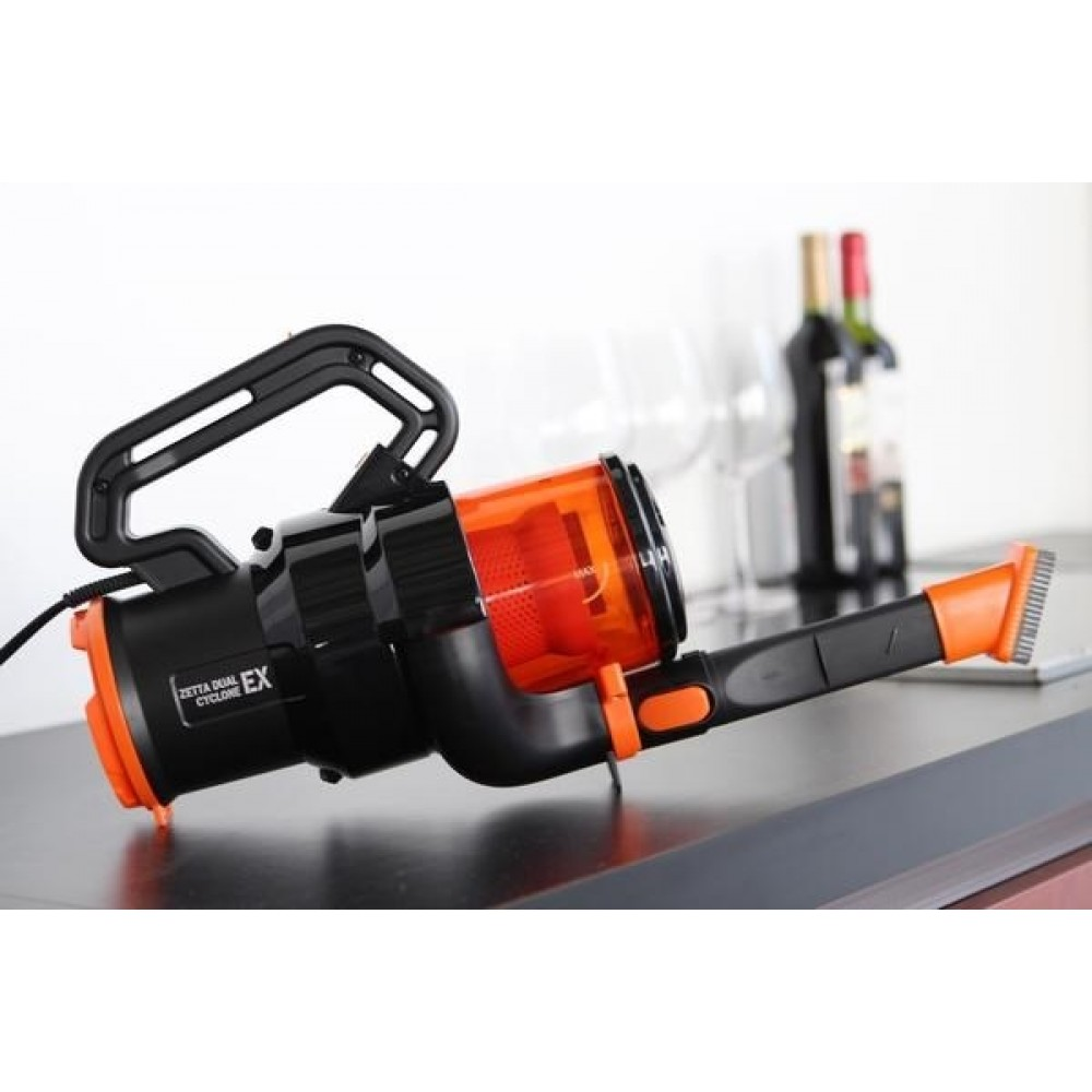 Zetta Dual Cyclone Ex Portable Handheld Vacuum Cleaner Floor Cleaner