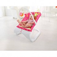 image of Comfort Curve Bouncer - Floral Confetti / RED
