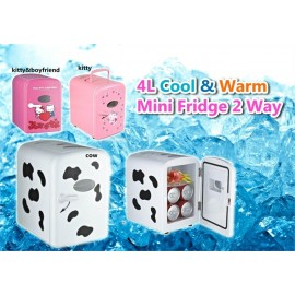 image of Mini Portable Cooler And Warmer Fridge