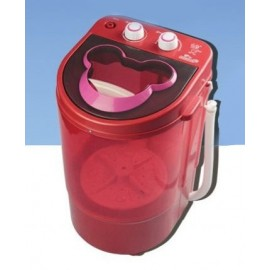 image of 【Red Colour】 Electric Small Mini Portable Mickey Mouse Mini washing machine