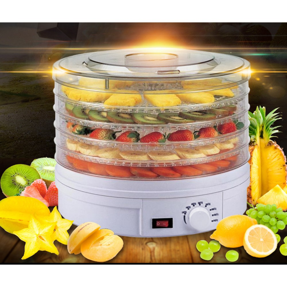 Healthy Foods Dryer Foods Dehydrator Food Drying Machine Fruits Vegetables Dryer 5 Layers Rack