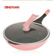 image of 32cm Korean High Quality Non-stick Cooking Wok Pan