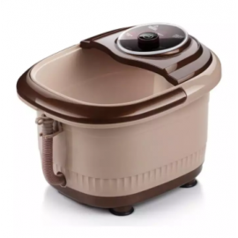 image of 【Bubble Model】Portable Automatic Reheat Foot & Leg Massage Bath Barrel
