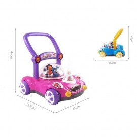 image of Car Design Baby and Toddler Walker Learner with Music and Lighting Toy