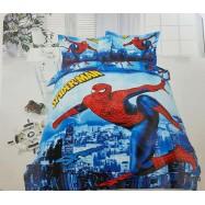 image of 【Queen Size - Spiderman】5 in 1 Bedding Set / Bed Sheet / Bedclothes Bed Set Duvet Bed Cover For Children Kids Cartoon Bed Linen Cartoon