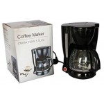 750W 1.5L 12-Cup Automatic Filter Drip Coffee Maker Tea Machine For Home Office