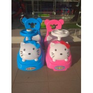 image of Hello Kitty Baby Car Walker Toddler Children Kid Push Car Ride On Music Press Horn