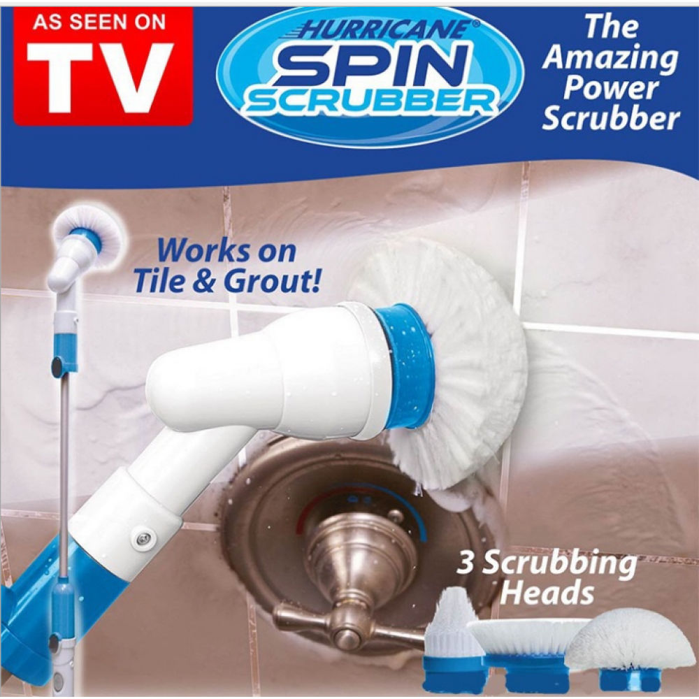 Hurricane Spin Scrubber Rechargeable Cordless Cleaning Brush