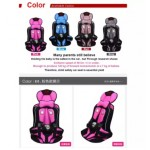 Portable Baby Safety Seat Carseat Children's Chairs Car Thickening Sponge Kids Seats sweet cherry