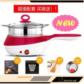image of New Arrival Multifunctional Electric Cooker/Steamer with stainless steel steam layer