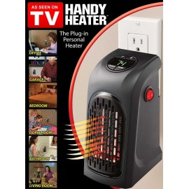 image of Handy Wall Air Warmer Electric Heaters Thermostat Home Bathroom Bedroom Camping