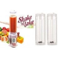 image of 【Shake n Take 2】Fruit Juice Blender with 2 Bottles