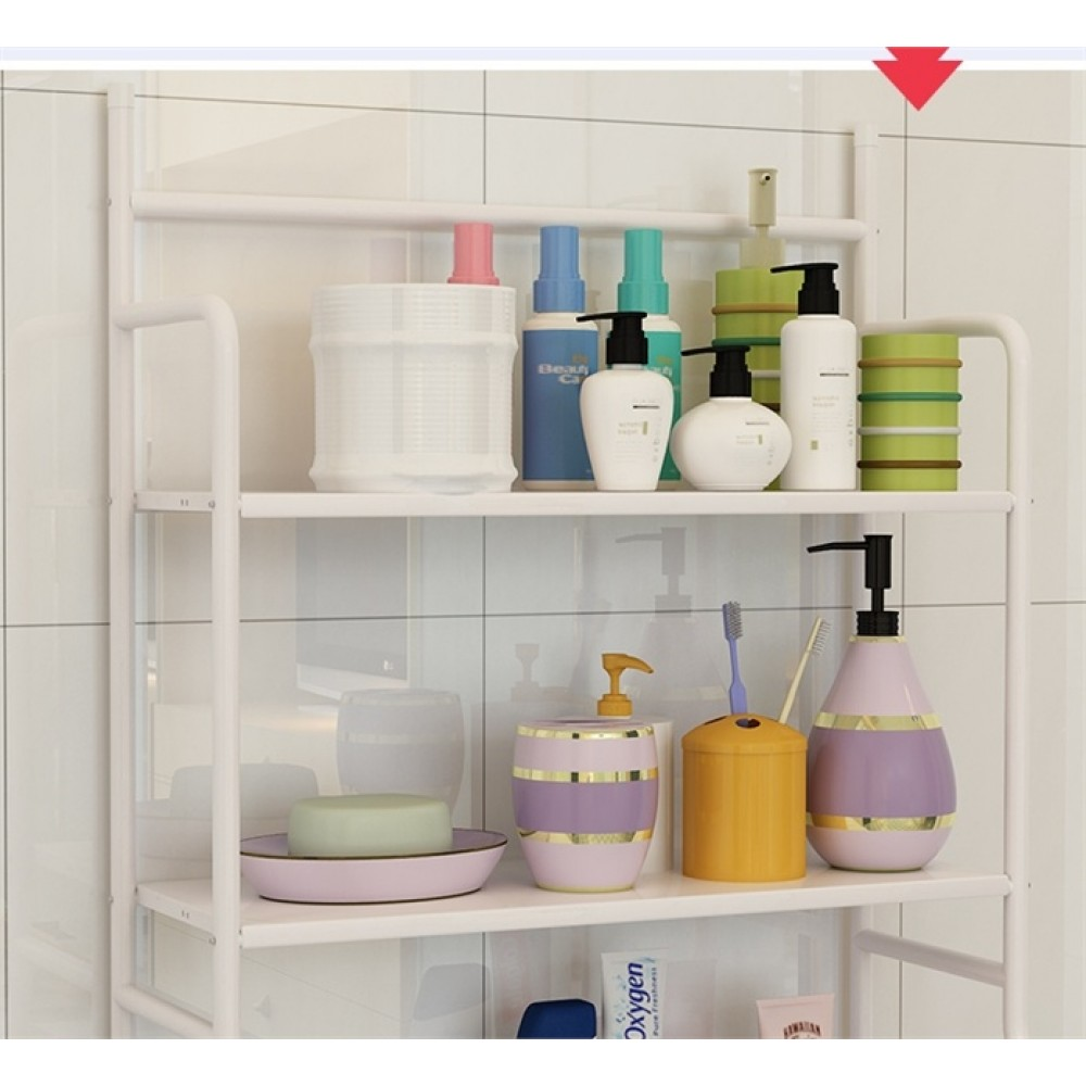 Multifunctional Toilet Bathroom Rack Holder Bathroom Shelves