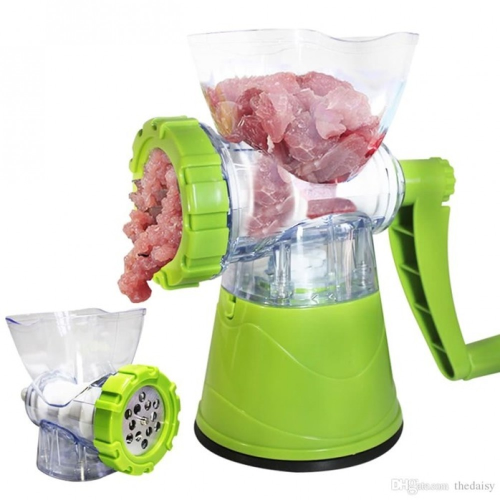 Useful Multifunction Manual Food Meat Chops Grinder Mixer Kitchen Tool new
