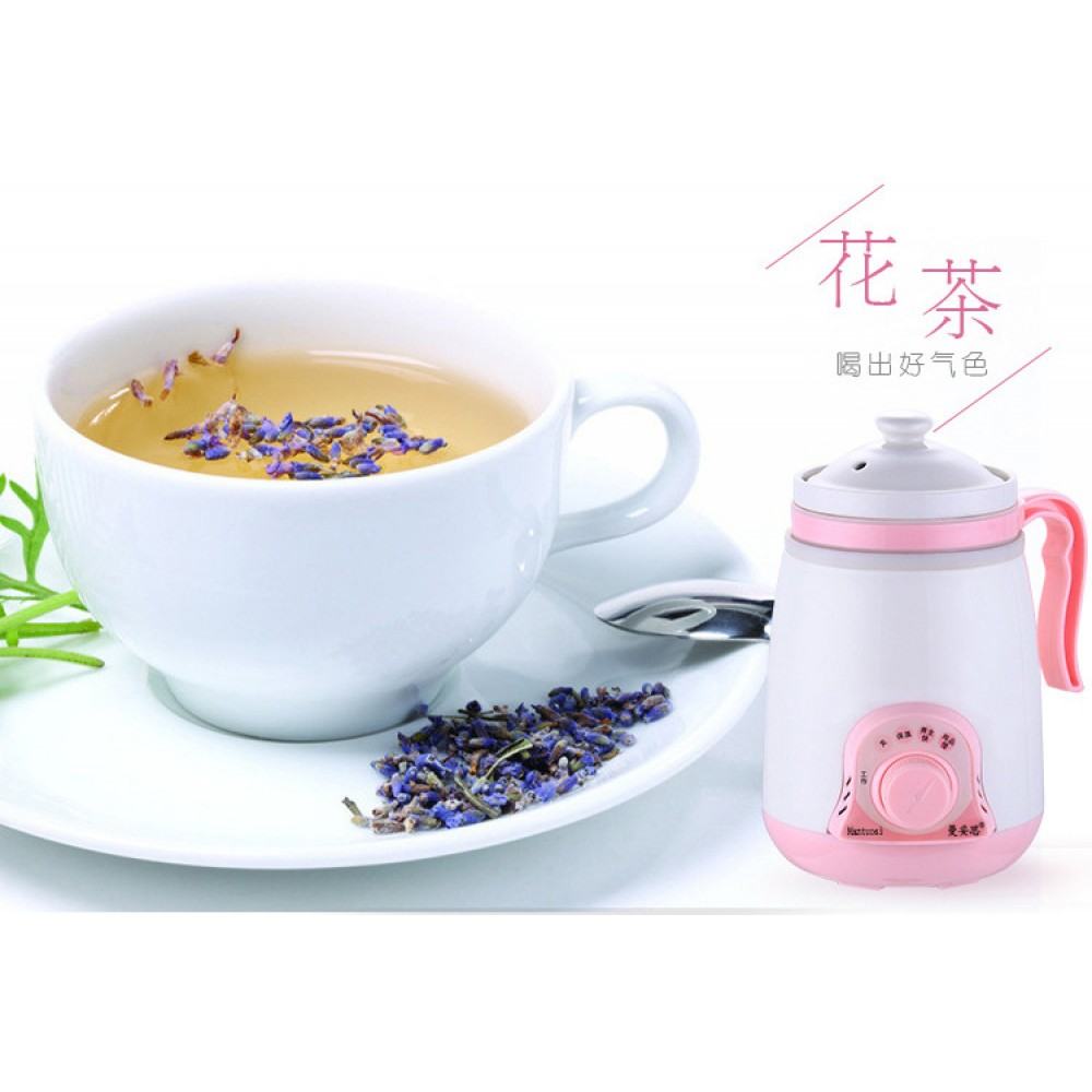 Ceramic Electric Stewed Health Cup Office Use Home Use - Random Colour